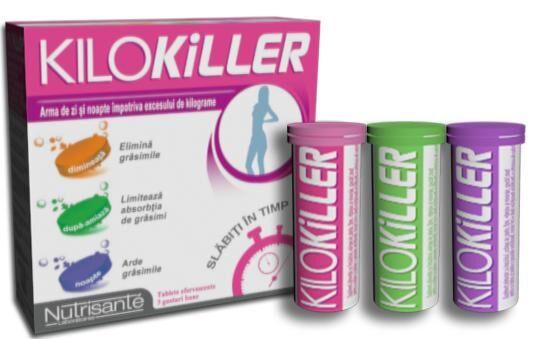 Kilokiller, pastile efervescente pentru slabit