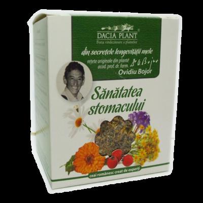Ceai din plante medicinale Sănătatea stomacului, 50 g, Dacia Plant