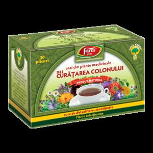 fares ceai pentru curatarea colonului