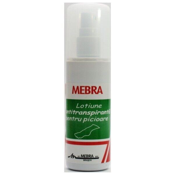 MEBRA Lotiune Antitranspiranta pt Picioare, Lotiune, 100ml