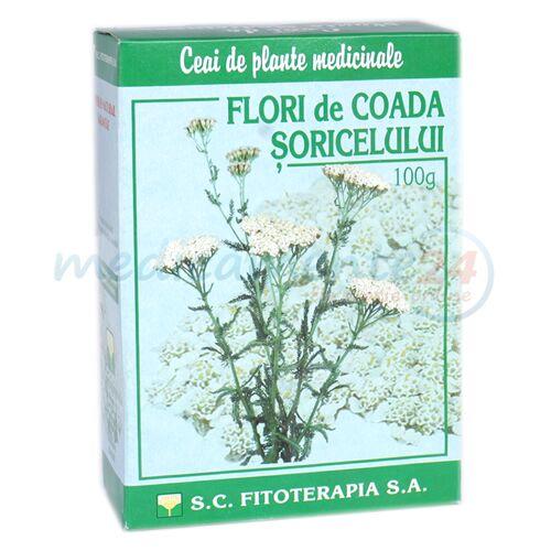 Fitoterapia Ceai Coada Soricelului, Ceai, 100g