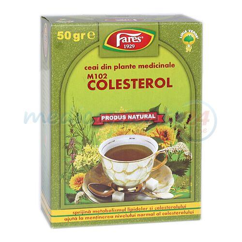 FARES Ceai Pentru Colesterol, Punga, 50g