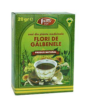 FARES Ceai Galbenele Flori, Punga, 20g