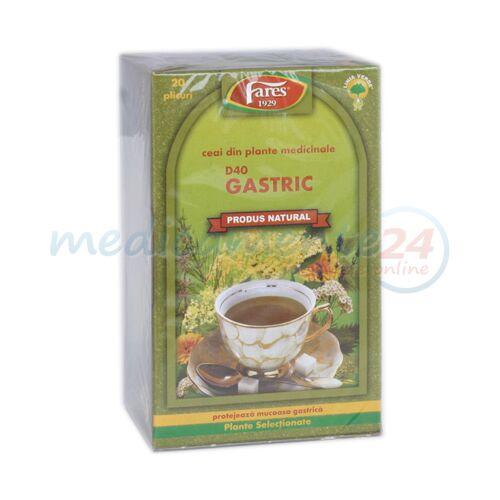 FARES  Ceai Gastric, pliculete, 20 buc