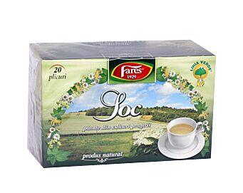 FARES Ceai de Soc, Pliculete, 20buc