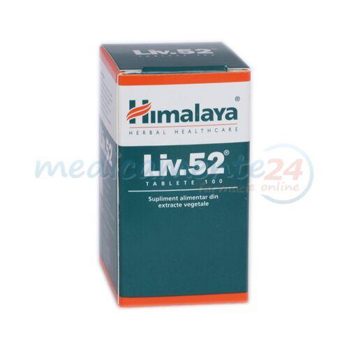 HIMALAYA Liv 52 Comprimate, Comprimate, 100buc