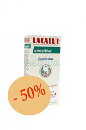 Lacalut Sensitive Anti-Plaque Apa de Gura, Solutie, 250ml