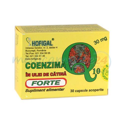Coenzima Q10 In Ulei de Catina Forte 30mg, Capsule, 40buc