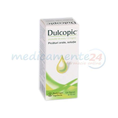 Dulcopic 7.5mg/ml Solutie, Solutie, 15ml