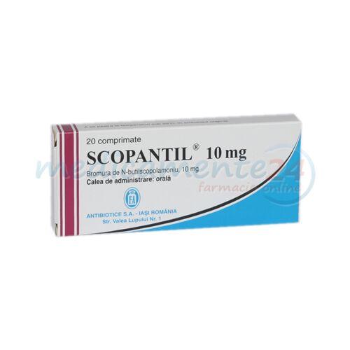 Scopantil 10mg Comprimate, Comprimate, 20buc