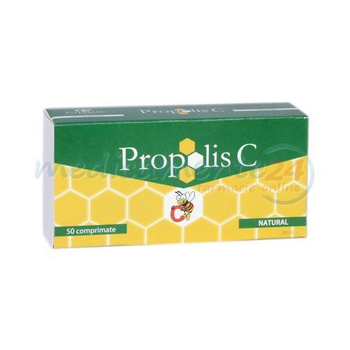 Propolis C Comprimate, Comprimate, 50buc