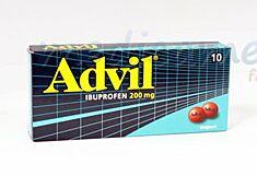 Advil 200mg Drajeuri, Drajeuri, 10buc