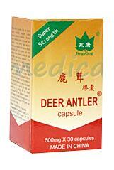 Deer Antler 500mg Capsule, Capsule, 30buc