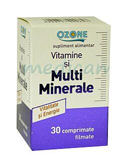 Vitamine si Multiminerale Comprimate Filmate, Comprimate Filmate, 30buc