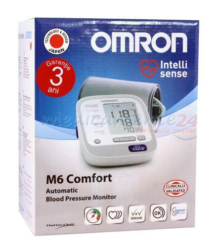 Omron Tensiometru automat M6 Confort, Tensiometru, 1buc