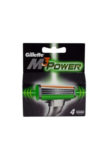 Gillette Mach 3 Power Rezerve, Rezerve, 4buc