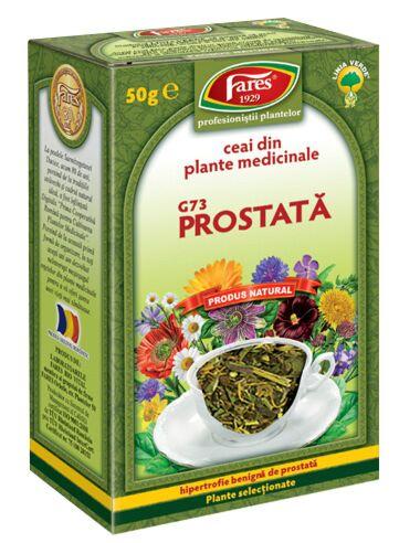 FARES Ceai Pentru Prostata , Punga, 50g