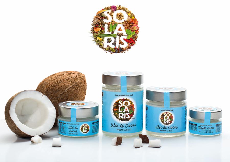 Solaris Ulei De Cocos Presat La Rece, Ulei, 500ml