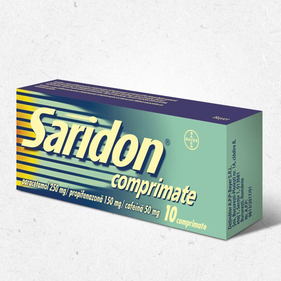 Saridon 10 comprimate