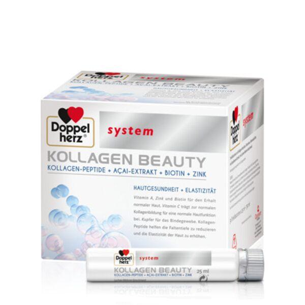 Doppelherz System Kollagen Beauty  Solutie Orala, Fiole, 30buc