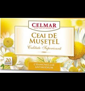 Celmar Ceai Musetel, Plicuri, 20buc