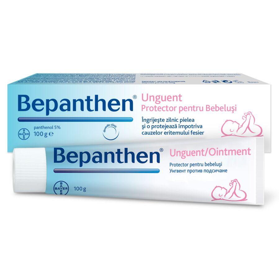 Bepanthen Unguent 100gr – Ingrijeste si protejeaza pielea impotriva iritatiilor de scutec