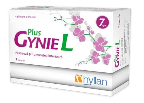 GynieL Plus Capsule, Capsule, 7buc
