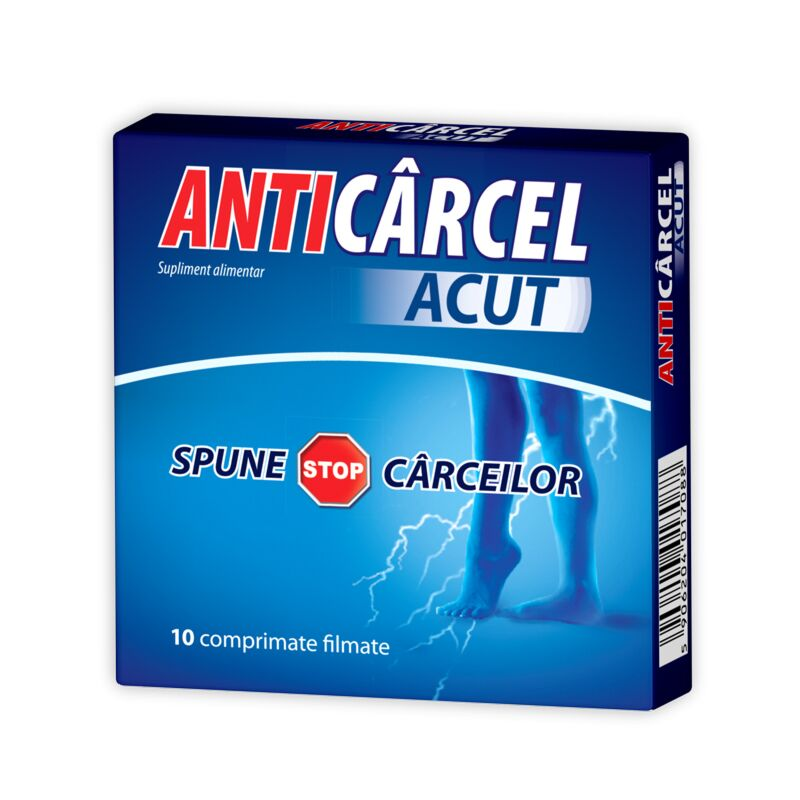 Zdrovit Anticarcel Acut Comprimate, Comprimate, 10buc