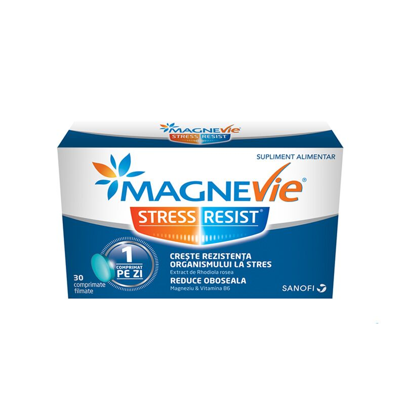 MagneVie Stress Resist Comprimate Filmate, Comprimate, 30buc