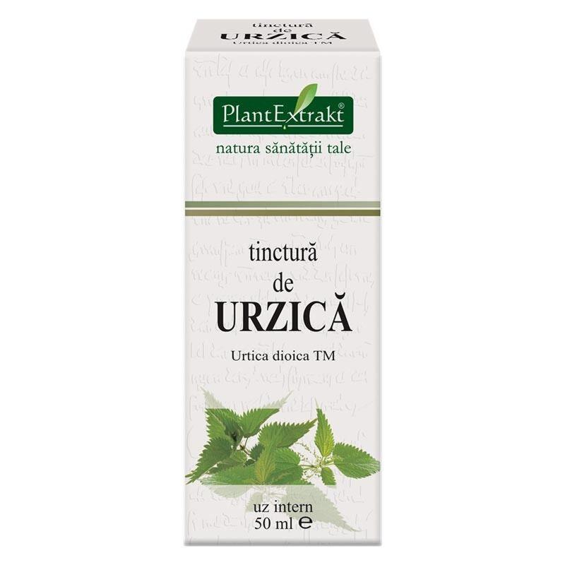 Plant Extrakt Tinctura de Urzica,  Tinctura, 50ml