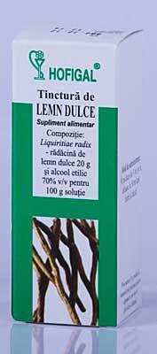 HOFIGAL Tinctura de Lemn Dulce, Tinctura, 50ml