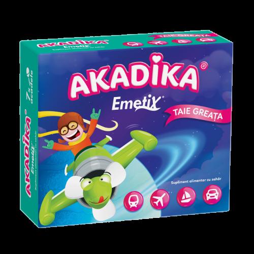 Akadika Emetix Acadele, Pachet, 7buc