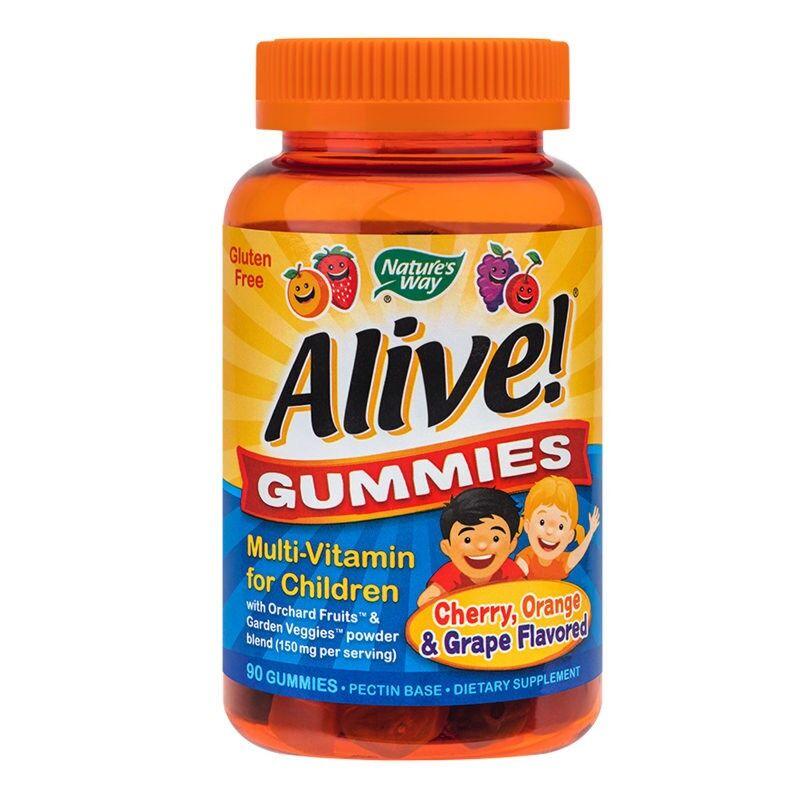 Secom Alive Multi-Vitamine Pentru Copii Jeleuri, Jeleuri, 90buc