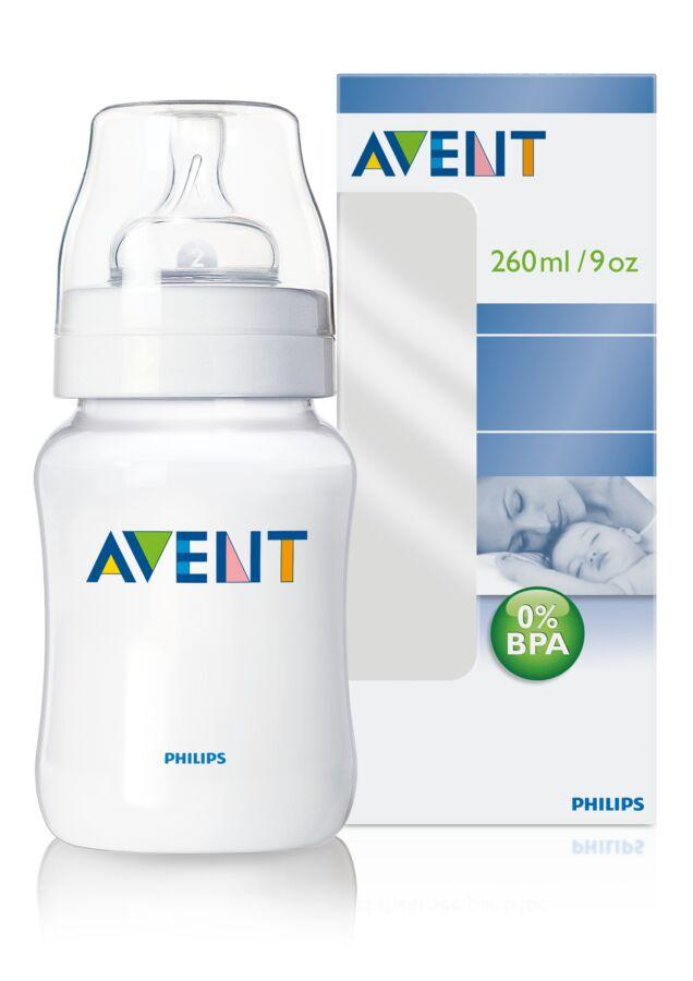 AVENT Biberon 260ml PP 0% BPA, Biberon, 1buc