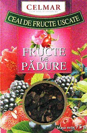 Celmar Ceai Fructe de Padure Uscate, Punga, 75g