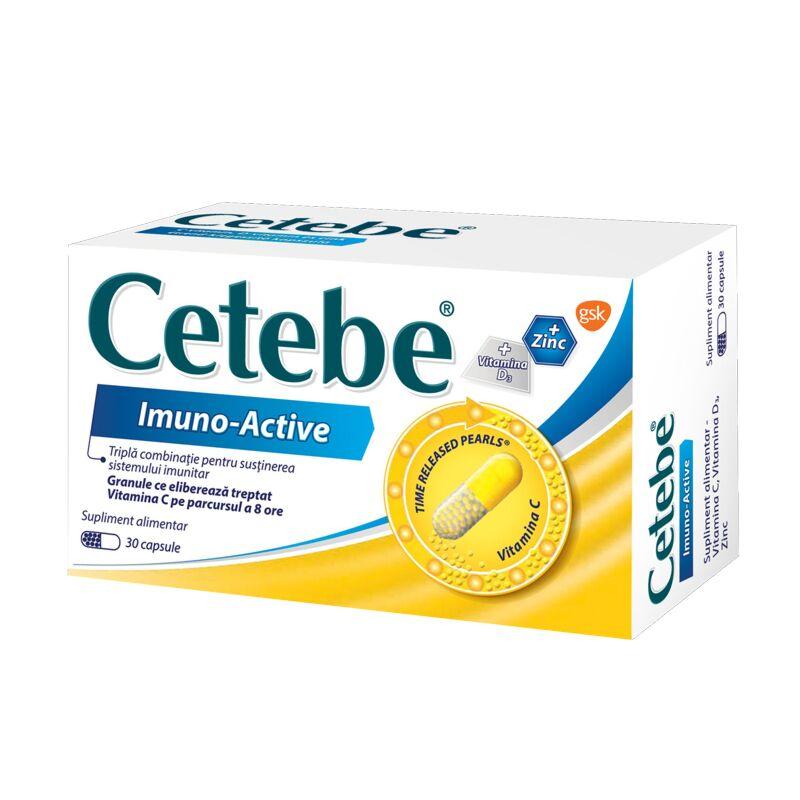Cetebe Imuno Active Capsule, Capsule,  30buc