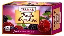 Celmar Ceai Fructe de Padure 2g Plicuri, Plicuri, 20buc