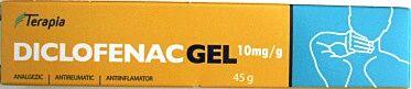 Diclofenac Gel 10 mg/g, Gel, 45g