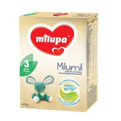 Milumil 3 Lapte, Lapte Praf, 600g