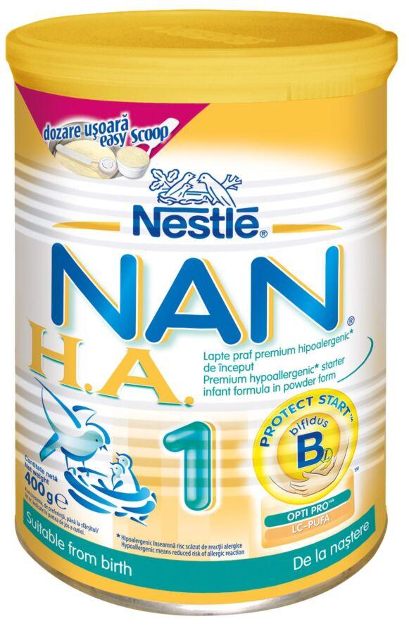 NESTLE Nan HA1 Lapte, Lapte praf, 400g