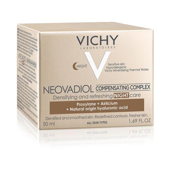 VICHY Neovadiol Complex Substitutiv Cremă De Noapte Pentru Tenul Matur, Crema, 50ml
