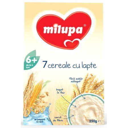 Milupa 7 Cereale cu Lapte, Cereale, 250g