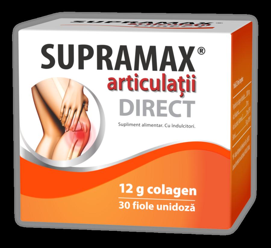 Supramax Articulatii Direct 12 gr Colagen, Fiole Unidoza, 30buc