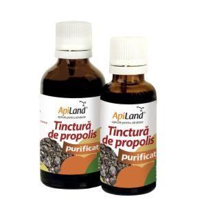 Apiland Tinctura De Propolis Purificat 95%, Tintura, 30 ml