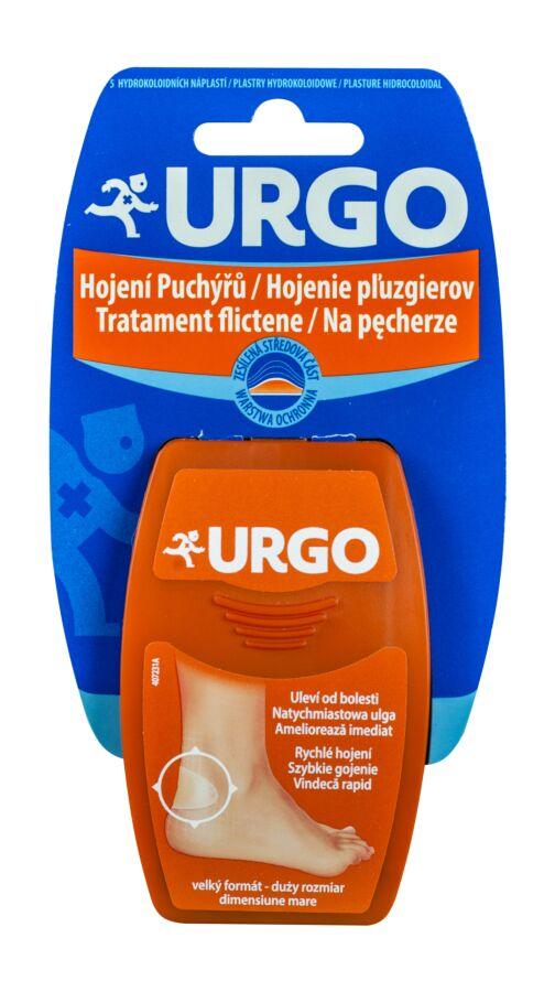 Urgo Tratament Flictene Plasturi Mari, Plasturi, 5buc