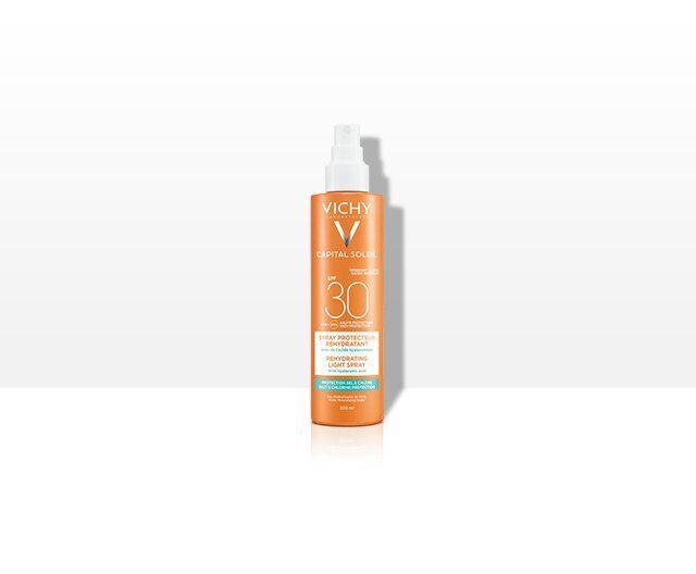 Trusa Capital Soleil Spray Hidratant SPF30+ + Lapte Gel Dupa Plaja 100ml